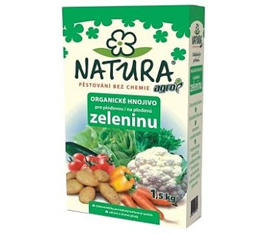 Agro NATURA Org. hnojivo pro plodovou zeleninu 1,5 kg