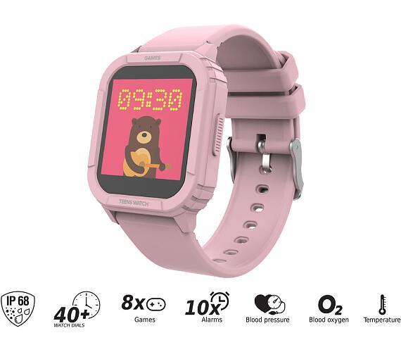 iGET KID F10 Pink - chytré dětské hodinky + DOPRAVA ZDARMA