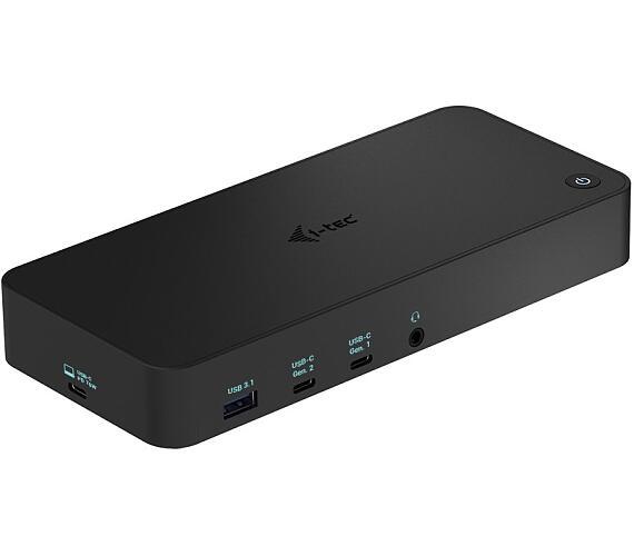 I-TEC dokovací stanice USB 3.0 / USB-C / Thunderbolt/ 4K/ 2x DP/ 3x HDMI/ 2x USB-C/ 2x USB 3.0/ USB 3.1/ LAN/ PD 70W (CATRIPLEDOCKPDPRO) + DOPRAVA ZDARMA