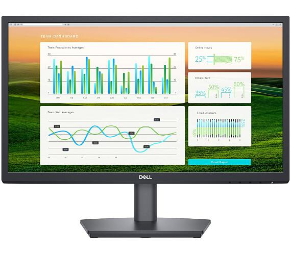 "Dell E2222HS / 21,5"" LED/ 16:9/ FHD 1920x1080/ 3000:1/ 5ms/VGA/ DP/ HDMI/ černý/ 3Y Basic on-site (210-AZKV)"