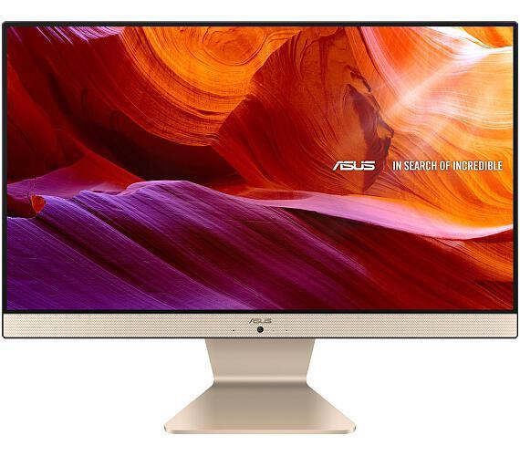 """Asus VIVO AIO V222/21,5""""/Pentium J5040 (4C/4T)/2x4GB/256GB SSD / WIFI+BT / KL+M / W10H / Gold / 2Y PUR (V222GAK-BA307T)"""