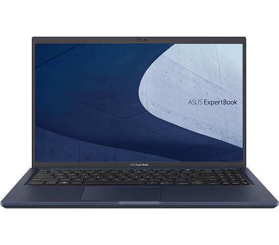"""Asus ExpertBook B1500/15,6""""/i3-1115G4 (2C/4T)/8GB/512GB SSD / FPR / TPM / Linux / Black / 2Y PUR (B1"""