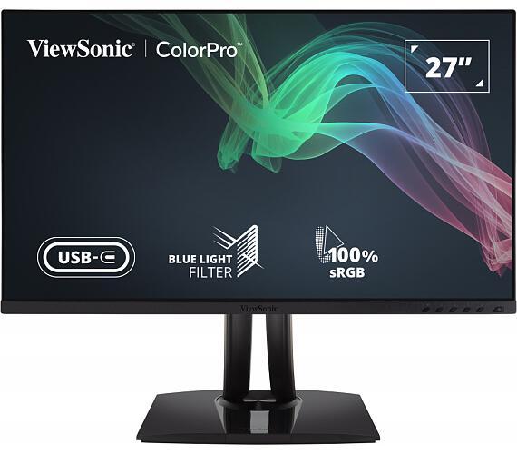 "VIEWSONIC VP2756-42 27"" 2K 2560x1440 / 60Hz / 350cd / 5ms / HDMI / DP / USB-C / 3xUSB / VESA / Repro / Nastavitelný (VP2756-2K)"