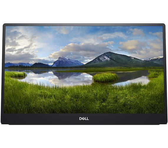"""Dell C1422H přenosný/ 14"""" LED/ 1920x1080/ Full HD/ 700:1/ 6ms/ 2 x USB-C stříbrný/ 3Y Basic on-site"""