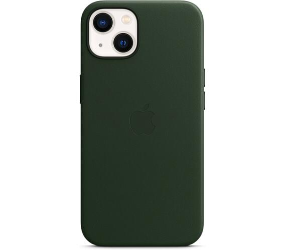 iPhone 13 Leather Case w MagSafe - S.Green (MM173ZM/A)