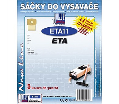 Jolly ETA 11 (5ks) do vysav. ETA