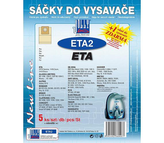 Jolly ETA 2 (5+1ks) do vysav. ETA
