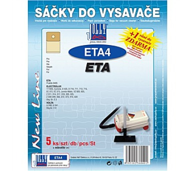 Jolly ETA 4 (5+1ks) do vysav. ETA
