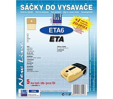 Jolly ETA 6 (5+1ks) do vysav. ETA