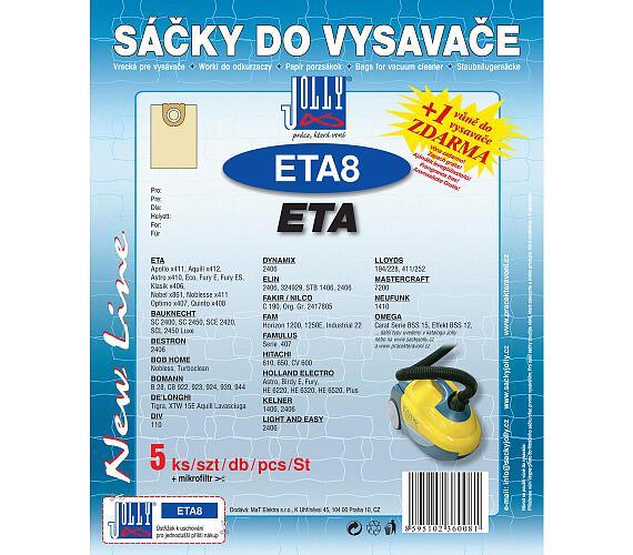 Jolly ETA 8 (5+1ks) do vysav. ETA
