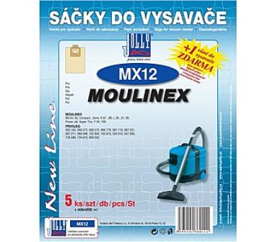 Jolly MX 12 (5ks) do vysav. MOULINEX