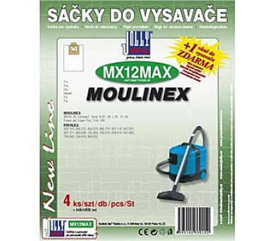Jolly MAX MX 12 (4+1ks) do vysav. MOULINEX