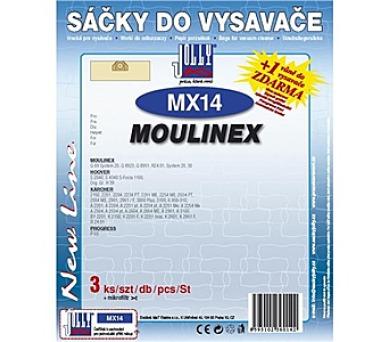 Jolly MX 14 (3+1ks) do vysav. MOULINEX
