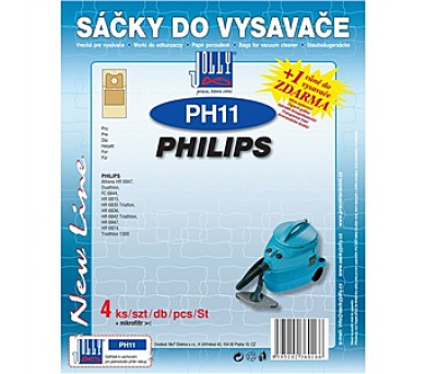 Jolly PH 11 (4+1ks) do vysav. PHILIPS