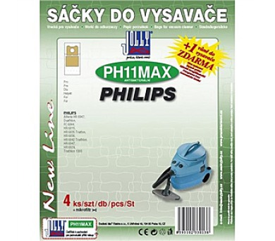 Jolly MAX PH 11 (4+1ks) do vysav. PHILIPS