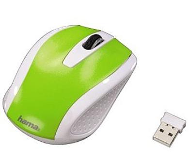Hama AM 7200 - bílá/zelená