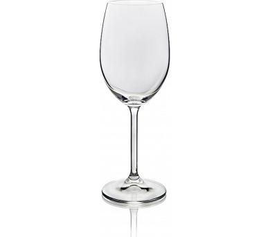 BANQUET CRYSTAL Sada sklenic na bílé víno DEGUSTATION 350 ml