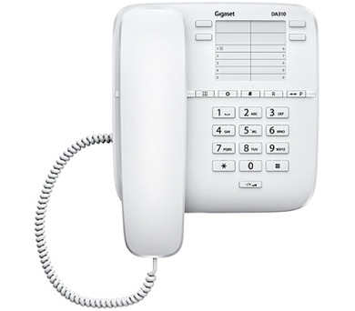 Domácí telefon Siemens Gigaset DA310 - bílý