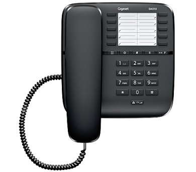 Domácí telefon Siemens Gigaset DA510 - černý