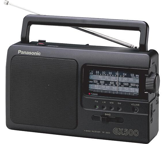 Panasonic RF-3500E9-K + DOPRAVA ZDARMA