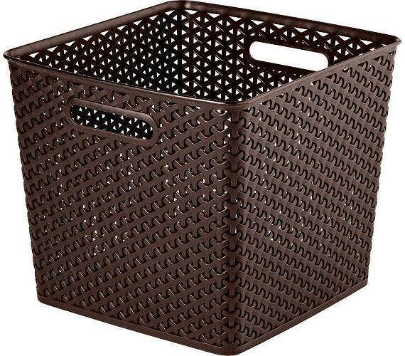 "Úložný box Curer Rattan Style ""Y"" 32,5 x 33,5 x 28 cm"