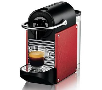 DeLonghi Nespresso EN 125 R Pixie Carmine + poukaz na kávu v hodnotě až 2.000 Kč*