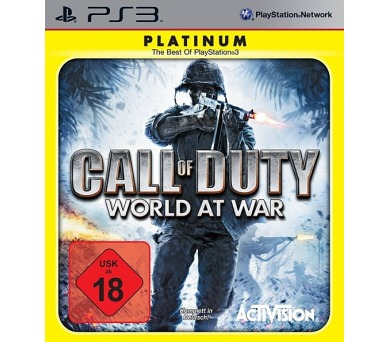 Activision PS3 Call of Duty World At War Platinum