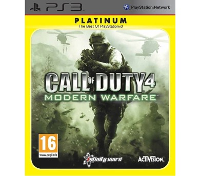 Activision PS3 Call of Duty Modern Warfare Platinum