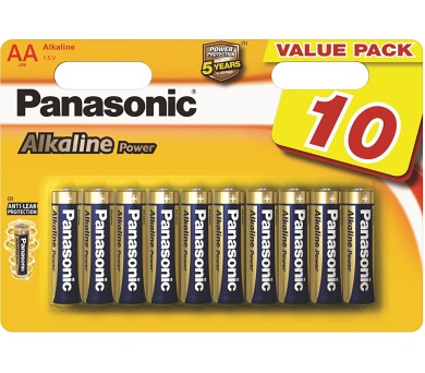 SUPER AKCE - Baterie Panasonic R06 ALKALINE POWER