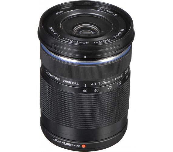 Olympus M.ZUIKO DIGITAL ED 40-150mm 1:4.0-5.6 R černý + DOPRAVA ZDARMA