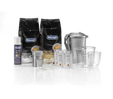 DeLonghi DeLuxe pack káva + příslušenství + DOPRAVA ZDARMA