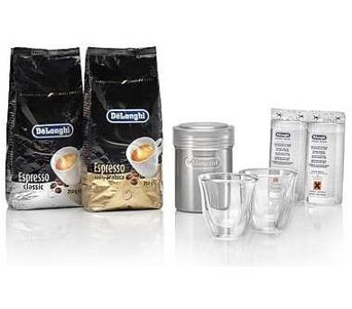 DeLonghi Essential pack káva + příslušenství + DOPRAVA ZDARMA