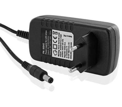 Napájecí zdroj WE pro LED pásky 20W 12V 1,6A