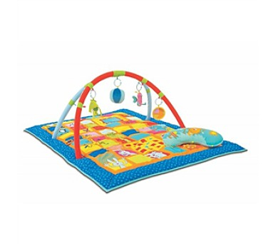 Hrací deka s hrazdou Taf toys Zvídálek