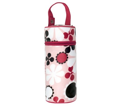 Termoobal na kojeneckou láhev JJ Cole - Pink Blossom