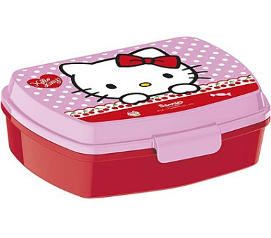 BANQUET Box svačinový HELLO KITTY 17 x 12 cm