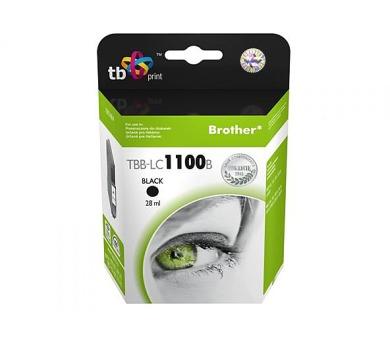 TB Brother LC 1100 B kompatibilní - černá