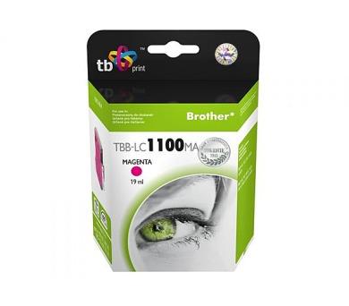 TB Brother LC 1100 M kompatibilní - červená