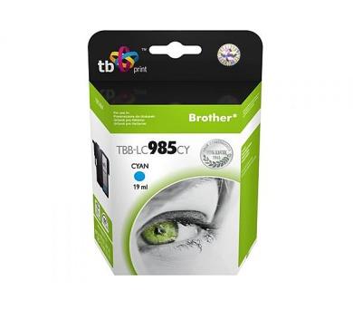 TB Brother LC 985 CY kompatibilní - modrá