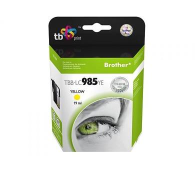 TB Brother LC 985 YE kompatibilní - žlutá