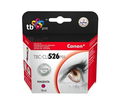TB Canon CLI-526M kompatibilní - červená