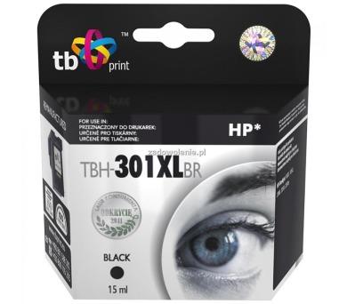 TB HP CH563EE (No.301XL) refil kompatibilní - černá + DOPRAVA ZDARMA