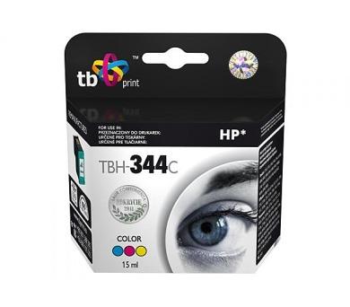 TB HP C9363EE (No.344) Color kompatibilní - červená/modrá/žlutá
