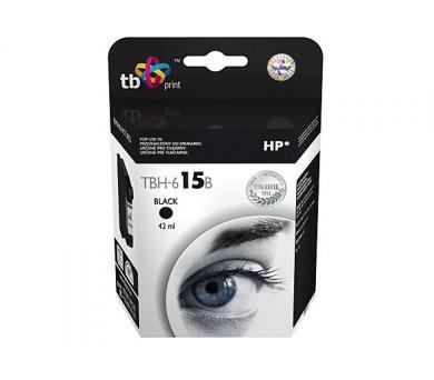 TB HP C6615DE (No.15) Bk kompatibilní - černá
