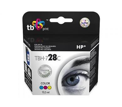 TB HP C8728AE (No.28) Color kompatibilní - červená/modrá/žlutá