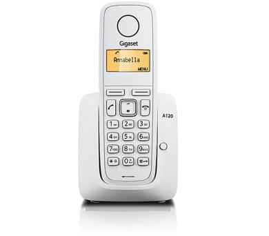 Domácí telefon Siemens Gigaset A120 - bílý