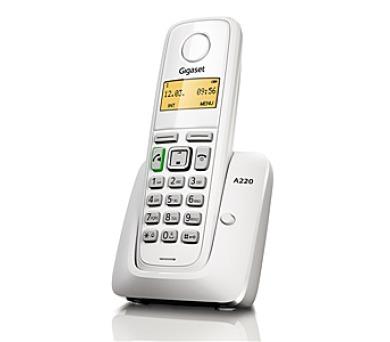Domácí telefon Siemens Gigaset A220 - bílý