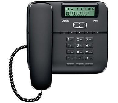 Domácí telefon Siemens Gigaset DA610 - černý