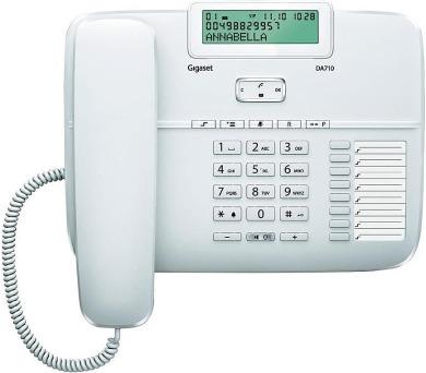 Domácí telefon Siemens Gigaset DA710 - bílý