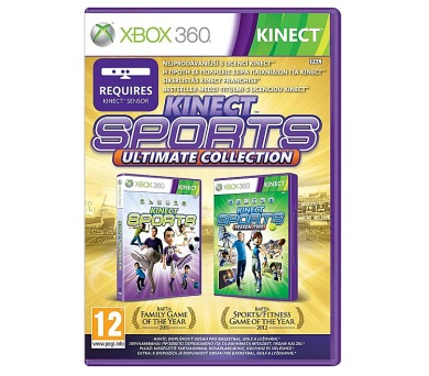 Microsoft Xbox 360 Kinect Sports Ultimate (Kinect Sport 1+2)